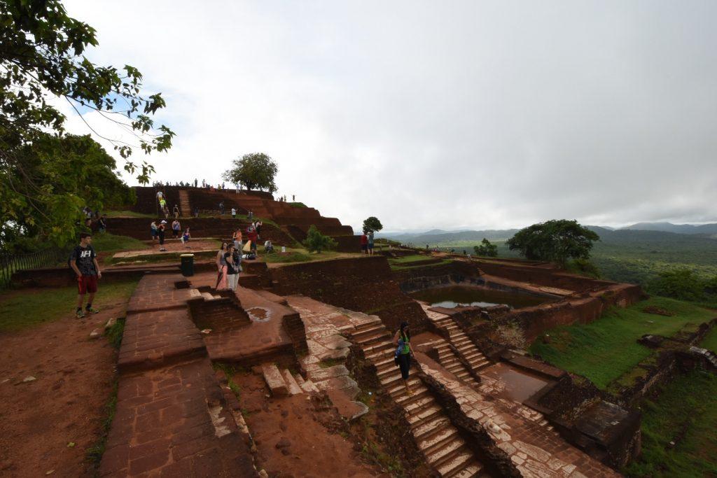 Der Hauptpalast mit seinen verzweigten Gängen zum restlichen Areal