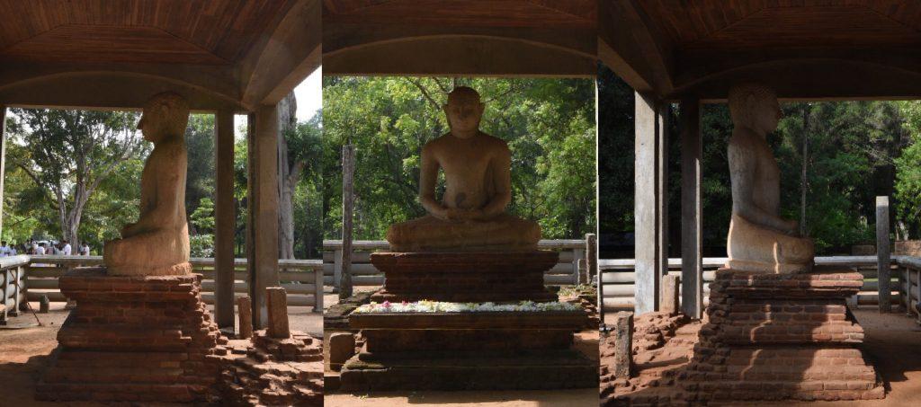 Die 3 Ansichten des Samadhi Buddha