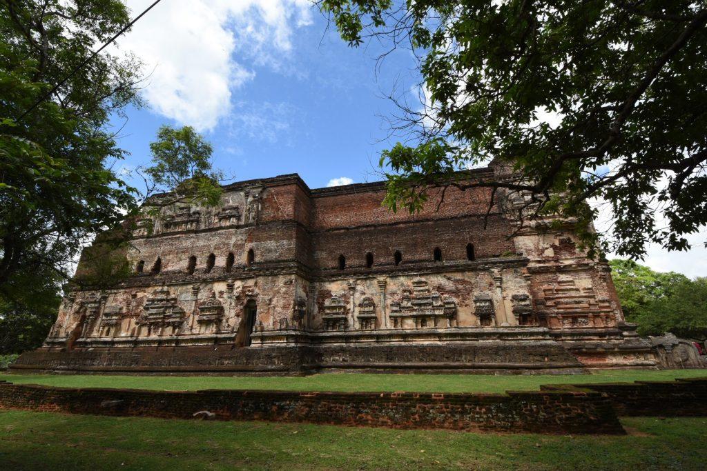 Der Lankatilanka-Tempel im Ruinenareal von Polonnaruwa