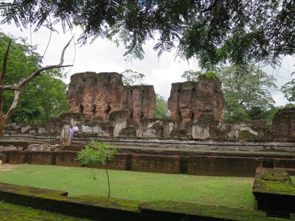 Die Vijayanta Prasada-Zitadelle von König Parakramabahu