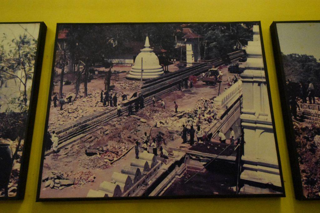 Ein Bild der Zerstörung aus 1998