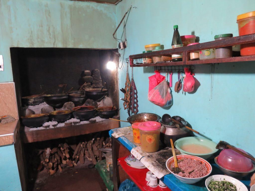Curryküche vom besten Reis und Curry in Sri Lanka
