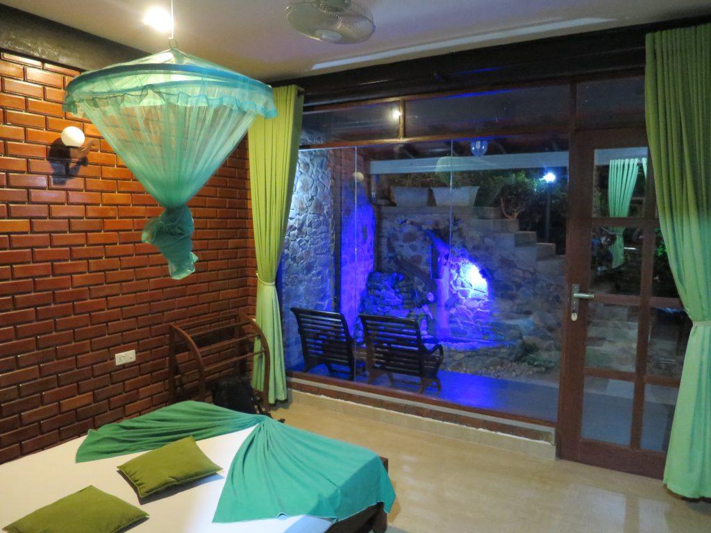 Unser Zimmer im Relax Cottage