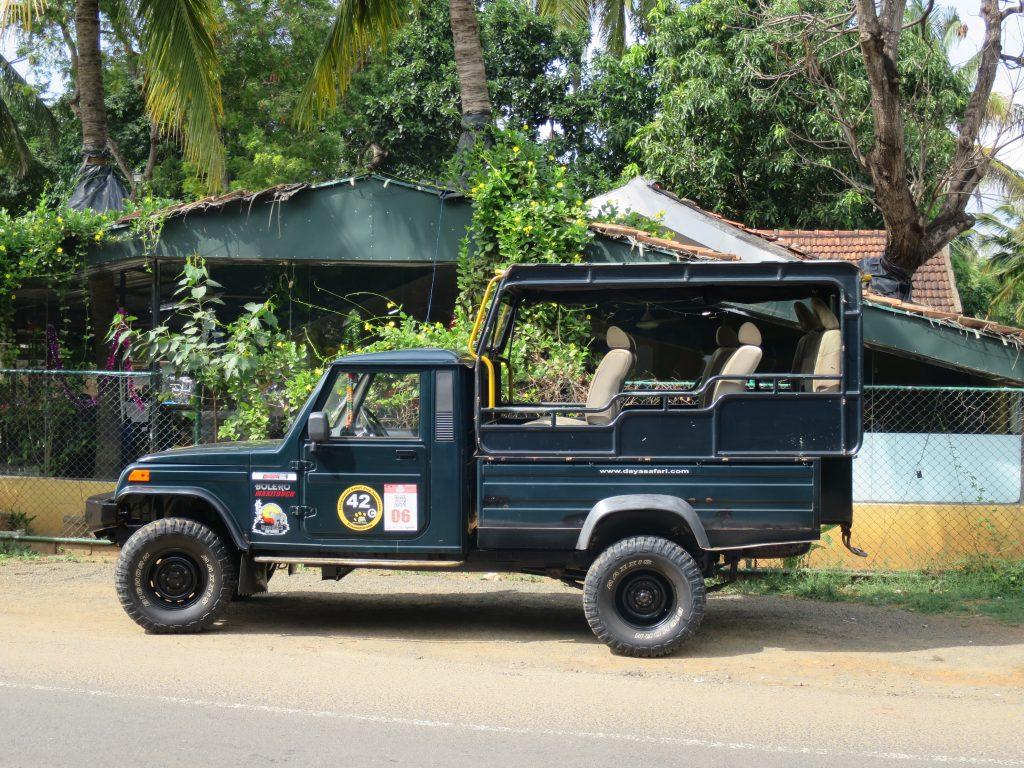 So sehen die Jeeps für die Yala Jeep Safari aus