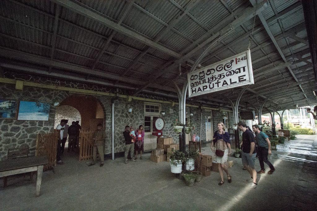 Der Bahnhof von Haputale