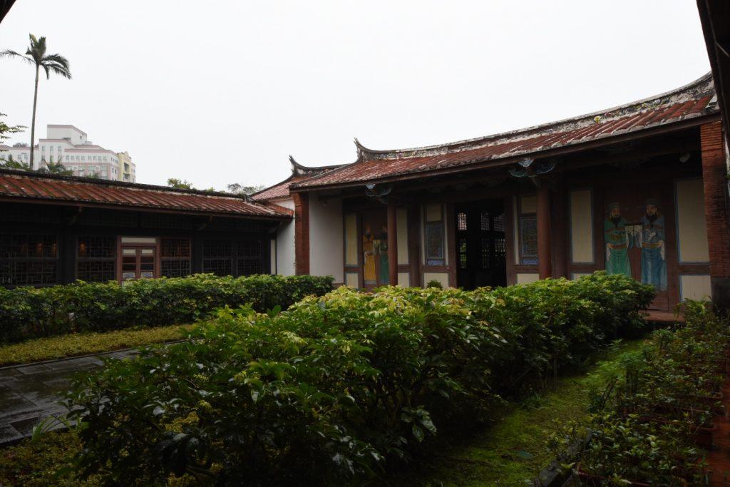 Das Guesthouse of Imperial Envoys, heute im botanischen Garten zu finden