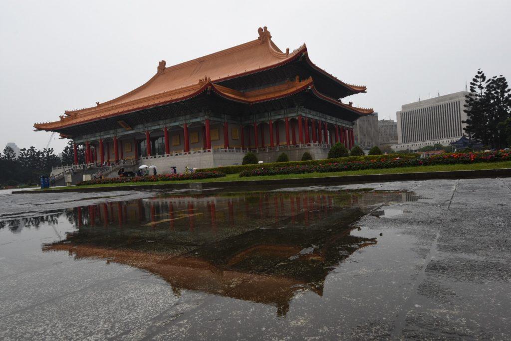 Die Concert Hall am Areal des Chaing Kai Shek Memorials