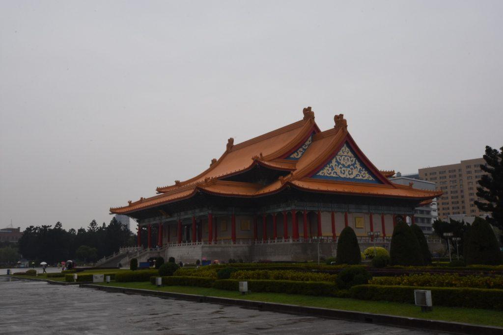 Das Opera House auf dem Areal des Chiang Kai Shek Memorials