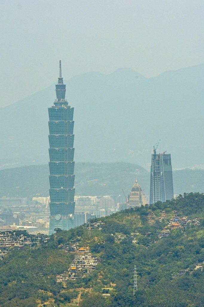 Aussicht vom Meokong aus auf das Taipei 101